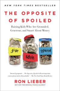 The Opposite of Spoiled Book Cover
