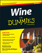 Ibooks top beverages and wine cookbook ebook best sellers wine for dummies ed mccarthy amp mary ewing mulligan cover art fandeluxe Images