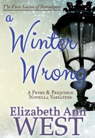 A Winter Wrong book