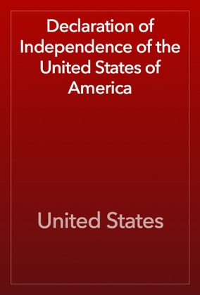 Declaration of Independence of the United States of America book cover