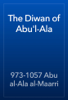 973-1057 Abu al-Ala al-Maarri - The Diwan of Abu'l-Ala artwork