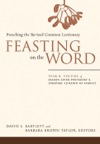 Feasting On The Word Year B Volume 4