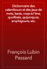 François Lubin Passard - Dictionnaire des calembours et des jeux de mots, lazzis, coqs-à-l'âne, quolibets, quiproquos, amphigouris, etc. artwork