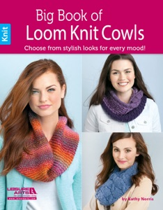 Big Book of Loom Knit Cowls Book Cover