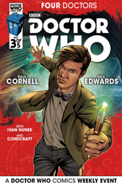 Doctor Who: 2015 Event: Four Doctors #3 book