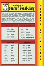 Spanish Vocabulary Blokehead Easy Study Guide