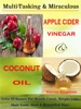 Multi-Tasking & Miraculous Apple Cider Vinegar & Coconut Oil