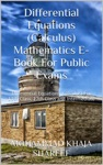 Differential Equations Calculus Mathematics E-Book For Public Exams