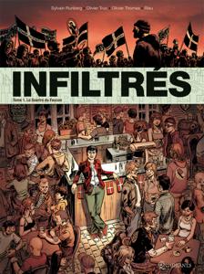Infiltrés T01 La couverture du livre martien