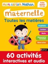 Mon Cahier Maternelle 3/4 Ans