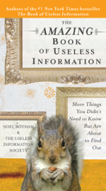 The Amazing Book of Useless Information book