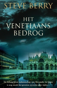 Het Venetiaans bedrog Door Steve Berry Boekomslag