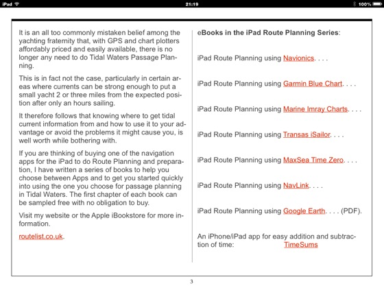 With GPS Why Passage Plan? on Apple Books