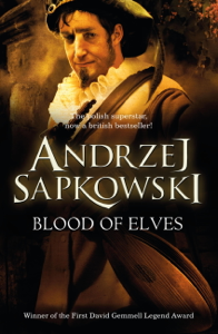 Blood of Elves La couverture du livre martien
