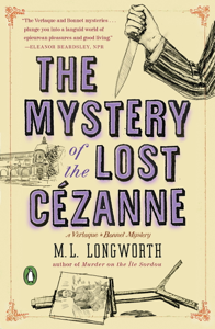The Mystery of the Lost Cezanne Book Cover