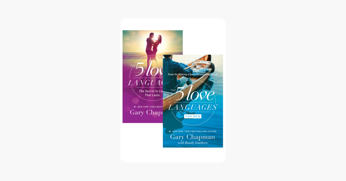 The 5 Love Languages/The 5 Love Languages for Men Set - Gary Chapman