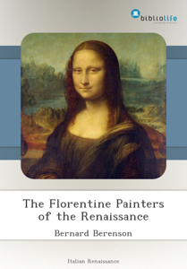 The Florentine Painters of the Renaissance Libro Cover