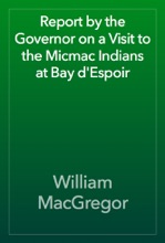 Report By The Governor On A Visit To The Micmac Indians At Bay D'Espoir