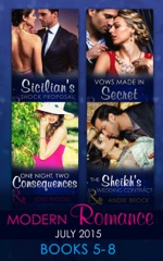 Modern Romance July 2015 Books 5-8