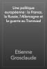 Etienne Grosclaude - Une politique europГ©enne : la France, la Russie, l'Allemagne et la guerre au Transvaal artwork