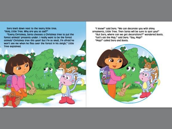 The Little Christmas Tree (Dora the Explorer) (Enhanced Edition) on on