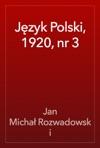 Jzyk Polski 1920 Nr 3