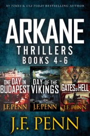 ARKANE THRILLER BOX-SET: ONE DAY IN BUDAPEST, DAY OF THE VIKINGS, GATES OF HELL