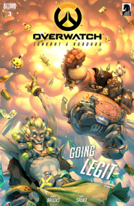 Overwatch#3 Book Review