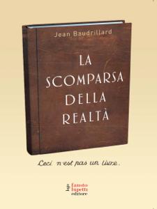 La scomparsa della realtà Copertina del libro