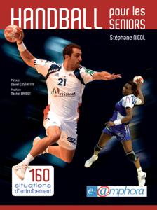 Handball pour les seniors La couverture du livre martien