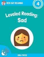 Leveled Reading: Sad