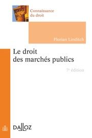 Le Droit Des March S Publics