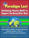 Paradigm Lost Rethinking Theater Airlift To Support The Army After Next - Cargo Handling Capability Situational Awareness Defensive Systems C-130 C-17 CH-47D V-22 Osprey Austere Operations