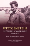 Wittgenstein Lectures Cambridge 19301933