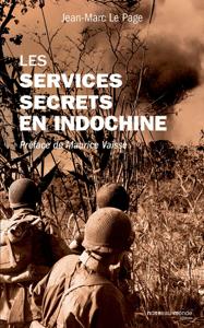 Les services secrets en Indochine La couverture du livre martien