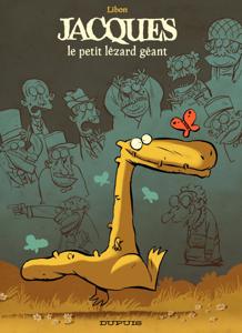 Jacques le petit lézard géant - Tome 1 - Le petit lézard géant 1 La couverture du livre martien