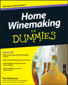 Ibooks top beverages and wine cookbook ebook best sellers home winemaking for dummies tim patterson cover art fandeluxe Images
