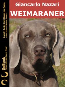 Weimaraner Copertina del libro