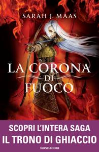 Il Trono di Ghiaccio - 3. La corona di fuoco Copertina del libro