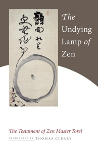 The Undying Lamp of Zen Book Cover