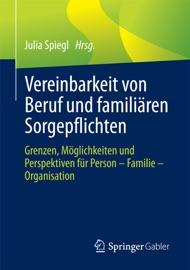 Vereinbarkeit Von Beruf Und Famili Ren Sorgepflichten