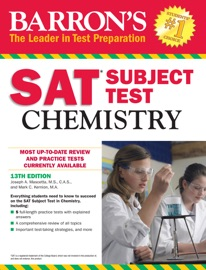 BARRONS SAT SUBJECT TEST CHEMISTRY, 13TH EDITION