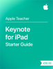 Apple Education - Keynote for iPad Starter Guide iOS 10 artwork