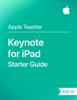 Apple Education - Keynote for iPad Starter Guide iOS 10 artwork