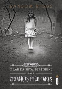 O lar da srta. Peregrine para crianças peculiares Book Cover