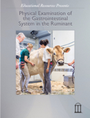 Physical Examination of the Gastrointestinal System in the Ruminant