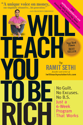 I Will Teach You To Be Rich - Ramit Sethi book