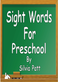 Sight Words for Preschool