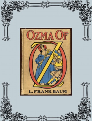 Ozma of Oz book cover
