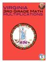 Virginia 3rd Grade Math - Multiplications